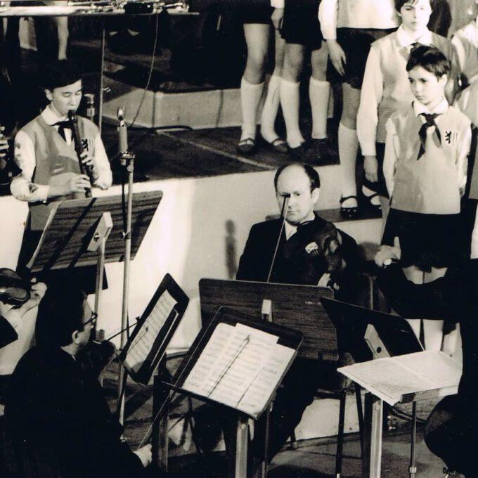 Reinhardt Syhres Kinderchor Mit Dem Gewandhausquartett (1969)