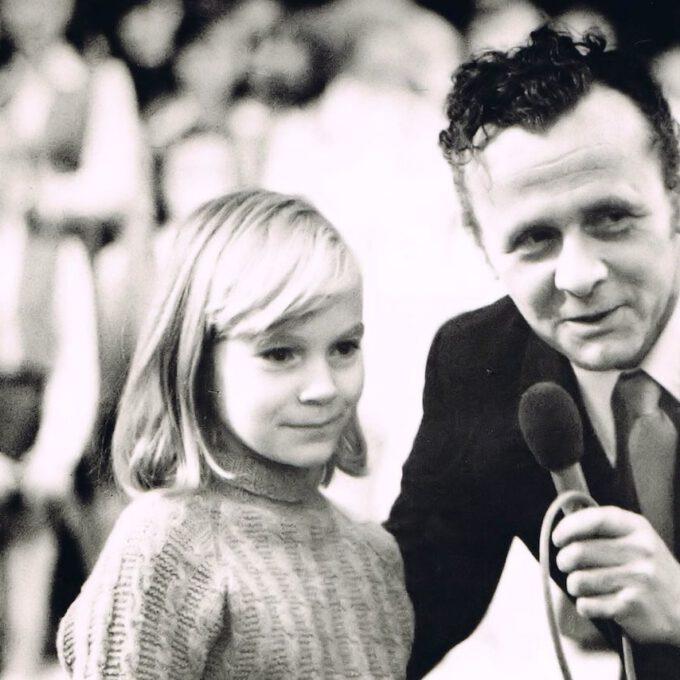 Reinhardt Syhre Mit Chorkind (1970er)