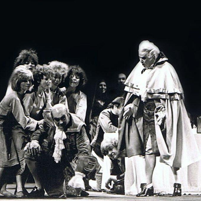 """Reinhardt Syhres Chorkinder Im """"Rosenkavalier"""" (1978)"""