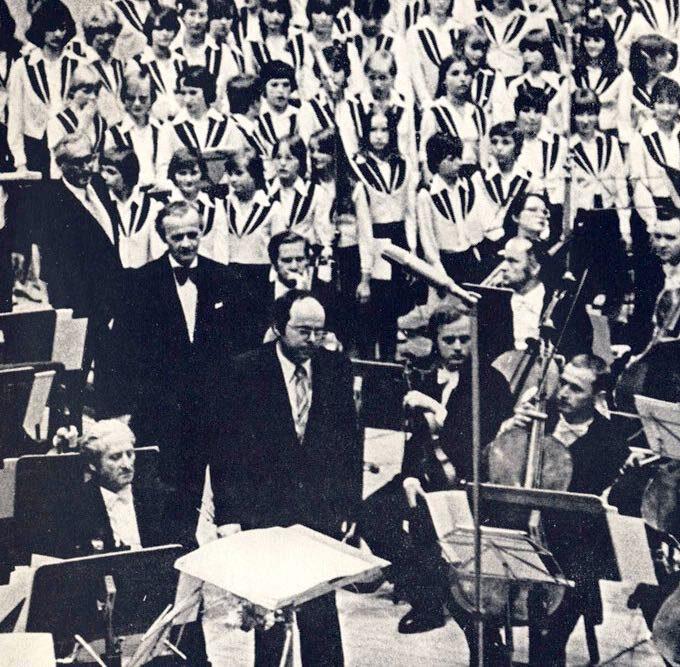 Uraufführung Der 2. Sinfonie Von Peter Herrmann (Sinfonie Der Kinder, 1979)