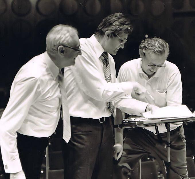 """Werner Dienemann, """"Sedlacek"""" (Kinderchor Brno) Und Reinhardt Syhre Im Gewandhaus (1985)"""