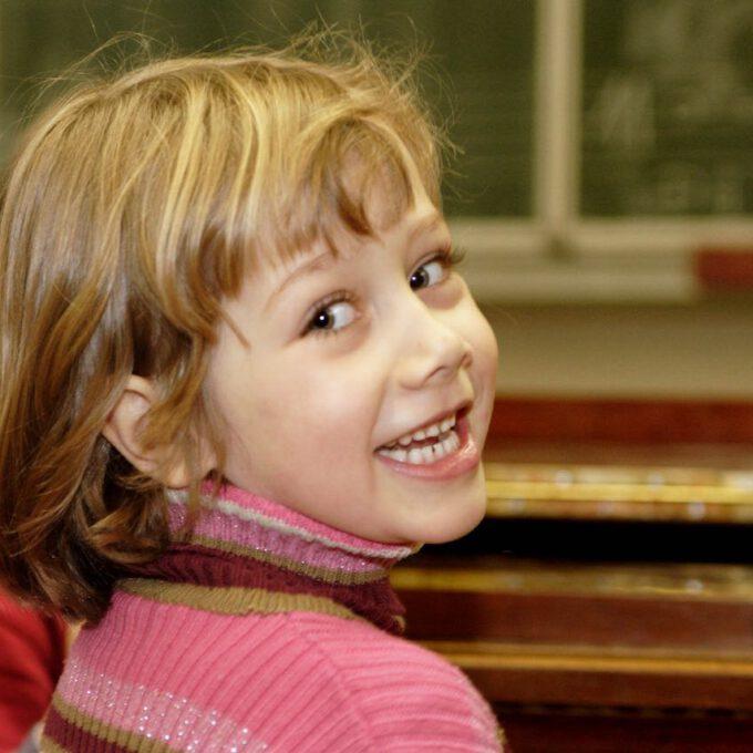Kinderchor-Proben In Der Leipziger Petrischule