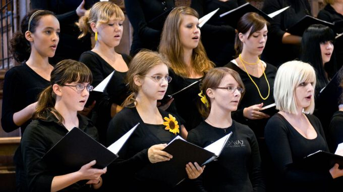 Samstagsmotette Mit Mädchenchor Und Ensemble In Der Thomaskirche Leipzig