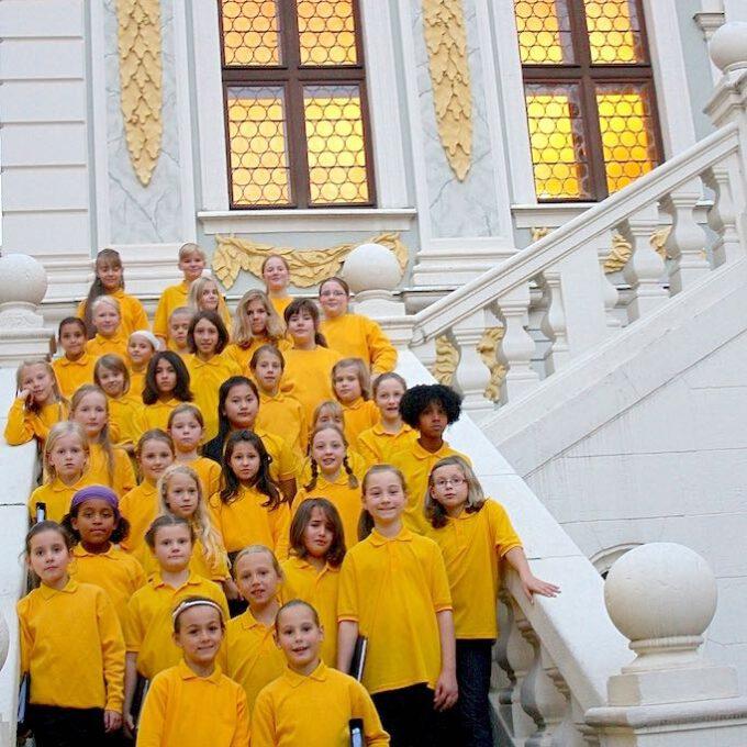 Herbstkonzert Des Kinderchores In Der Alten Handelsbörse Leipzig