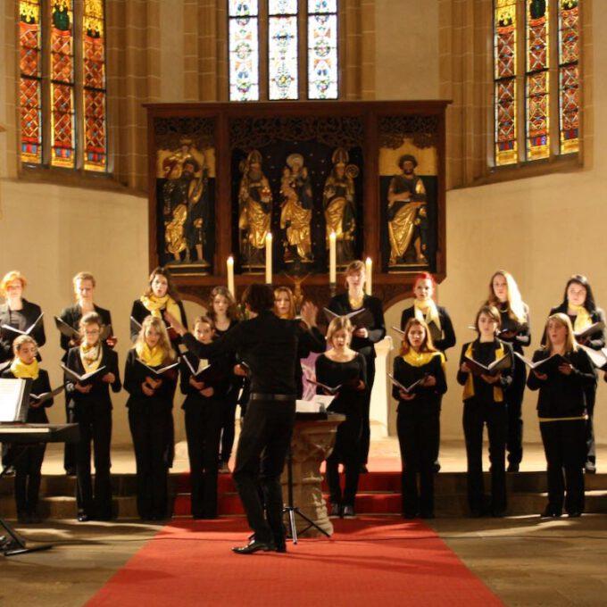 Konzert Von Mädchenchor Und Ensemble In Der Stadtkirche Dahlen