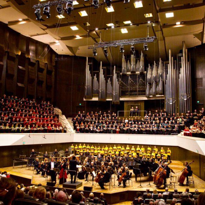 Leipzig Singt Mit über 500 Sängerinnen Und Sängern Orffs Carmina Burana