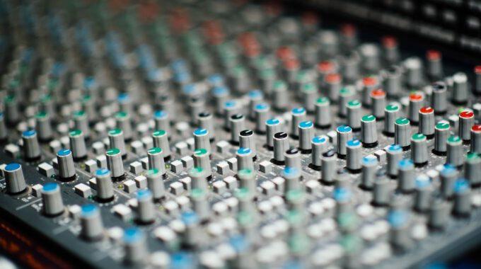 Mischpult Für Tonaufnahme