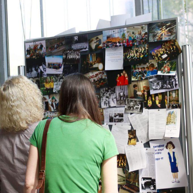 Fotoausstellung Im Rahmen Des 55. Jubiläums Der Schola Cantorum Leipzig