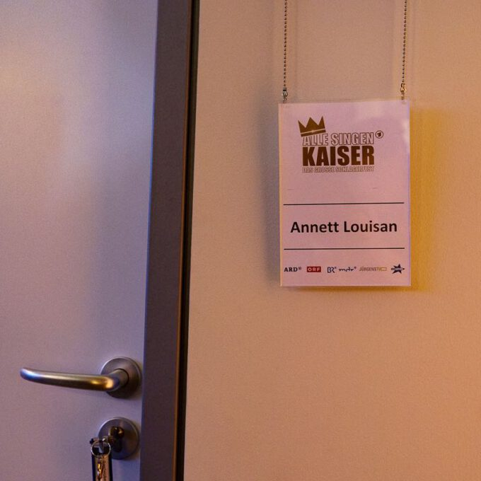 """Kurzauftritt Unseres Kinderchores Mit Kathy Kelly In Der Samstagabendshow """"Alle Singen Kaiser"""" Mit Florian Silbereisen"""