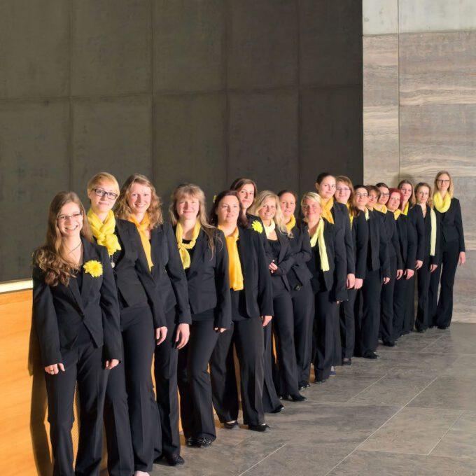 Mitglieder Des Frauenchores Der Schola Cantorum Im Museum Der Bildenden Künste Leipzig