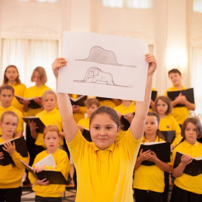 Herbstkonzert Mit Dem Kinderchor Der Stadt Leipzig In Der Alten Handelsbörse