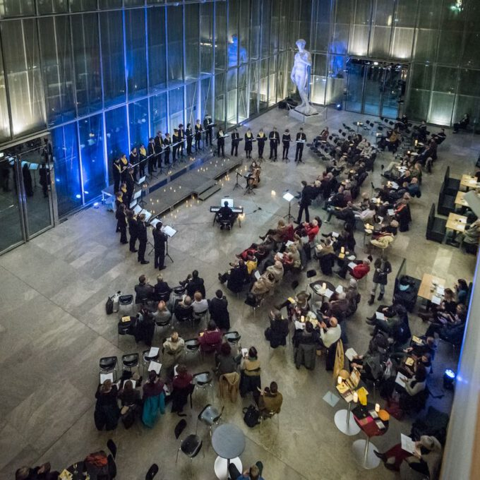 Weihnachtskonzert Mit Dem Kammerchor Der Stadt Leipzig Im Museum Der Bildenden Künste
