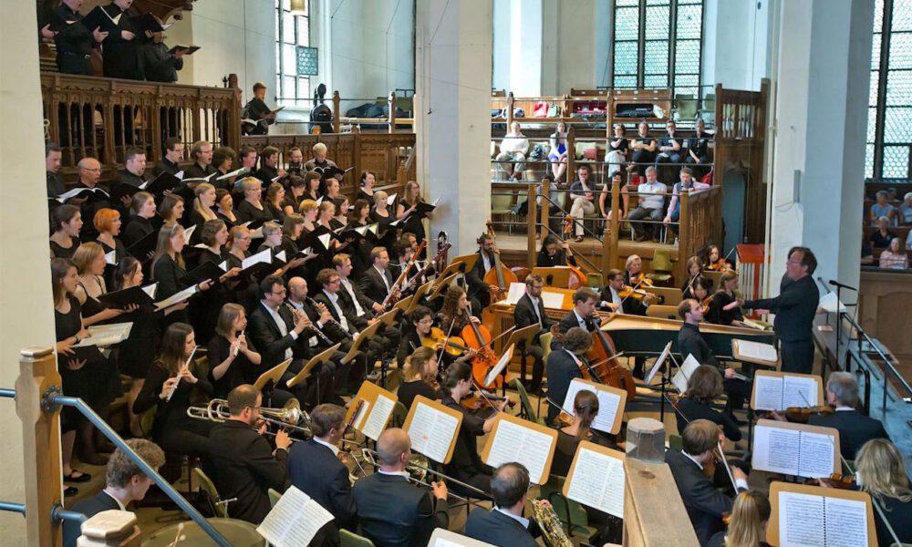 Kammerchor Der Stadt Leipzig Und Dominante (Finnland) Im Rahmen Des Bachfestes In Der Thomaskirche Leipzig