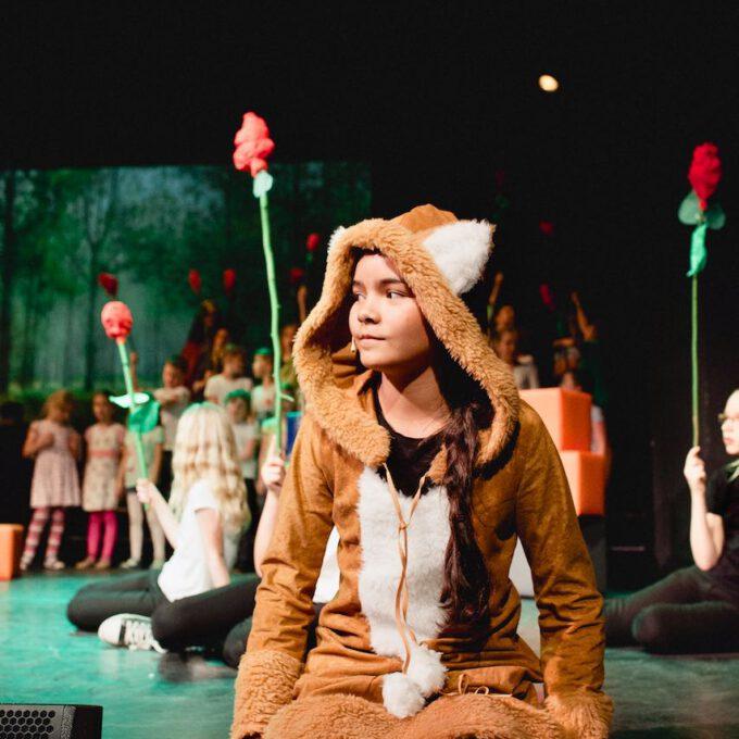 """Der Fuchs In Der Kinderoper """"Der Kleine Prinz"""""""