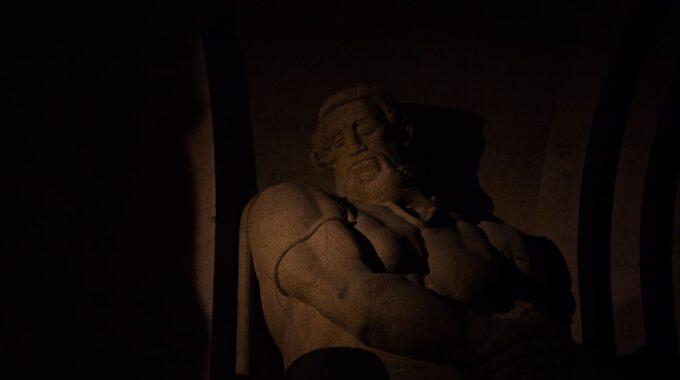 Völkerschlachtdenkmal Leipzig Bei Nacht