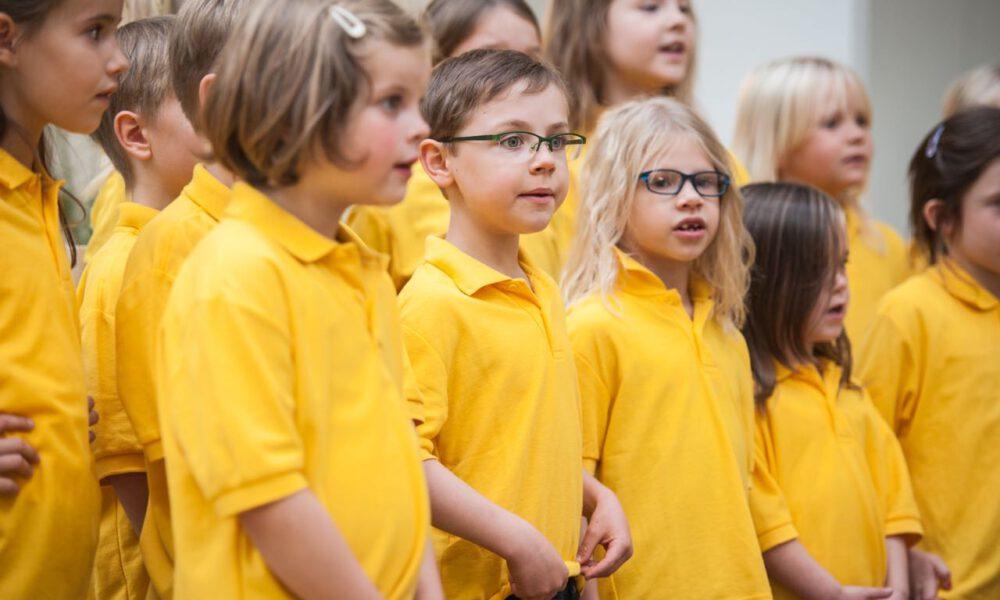 Mitglieder Der Spatzenchöre In Der Kinderklinik Der Universität Leipzig