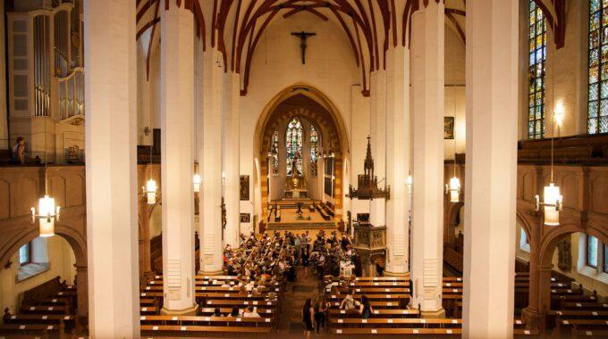 Freitagsmotette In Der Leipziger Thomaskirche Mit Juhn Rutters