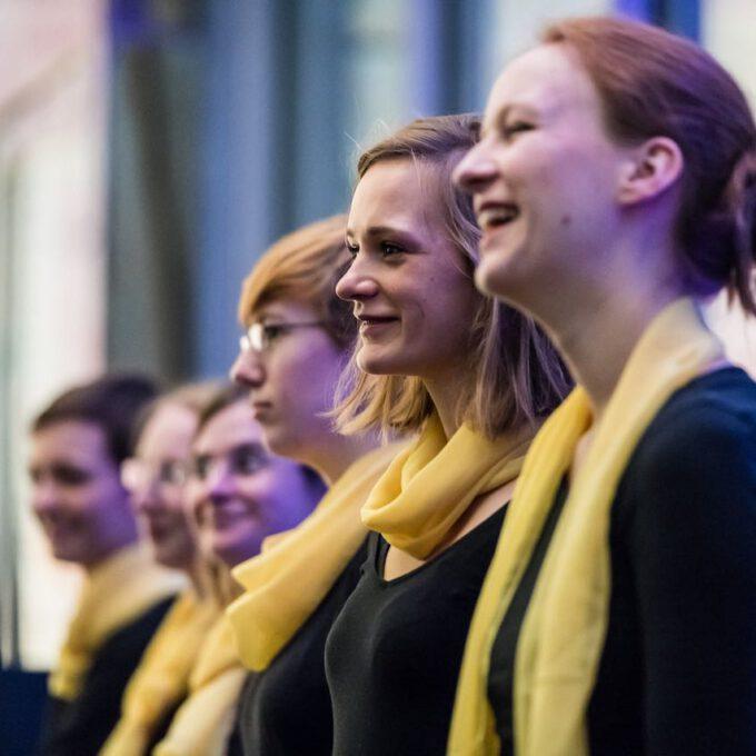 Weihnachtskonzert Des Kammerchores Der Schola Cantorum Leipzig Im Bildermuseum