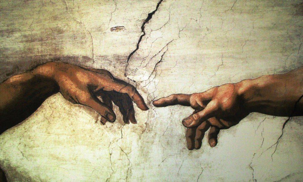 Ausschnitt Aus Michelangelos