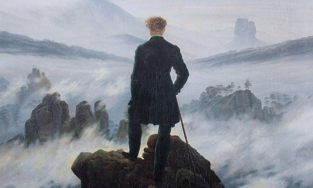 """Caspar David Friedrichs Gemälde """"Der Wanderer Über Dem Nebelmeer"""""""