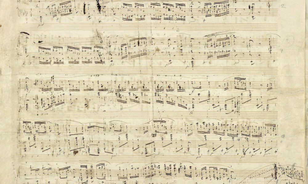 Autograph Einer Chopin-Polonaise
