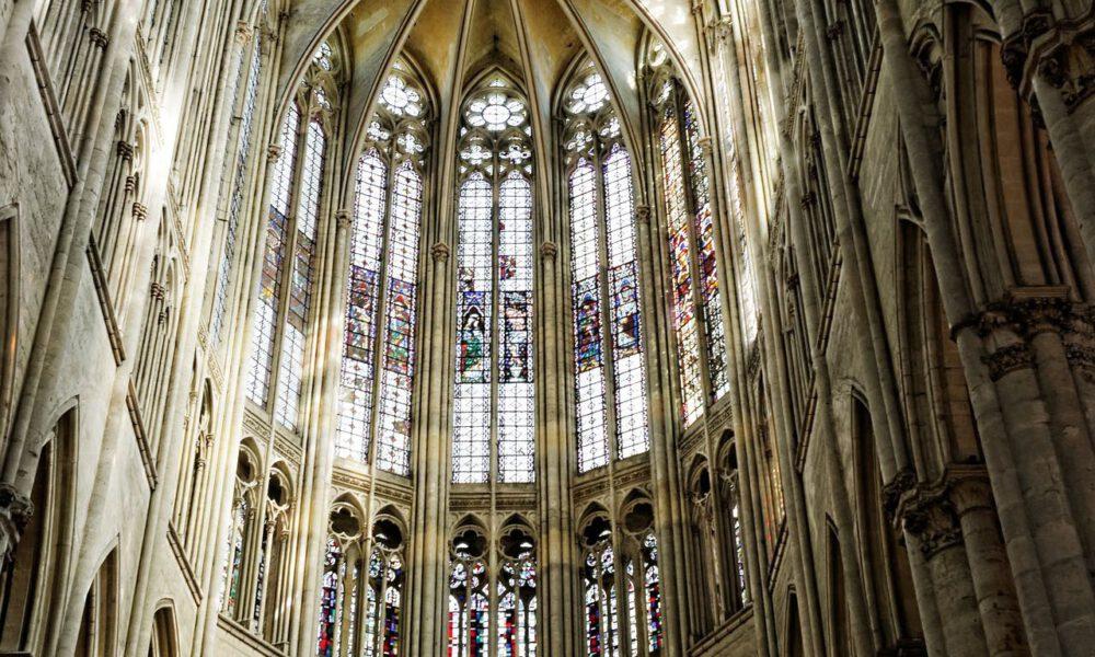 Gothischer Chorraum Der Kathedrale Beauvais
