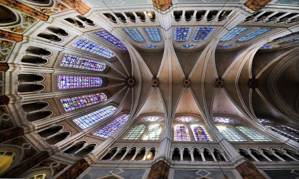 Gothischer Chorraum Der Kathedrale Von Chartres