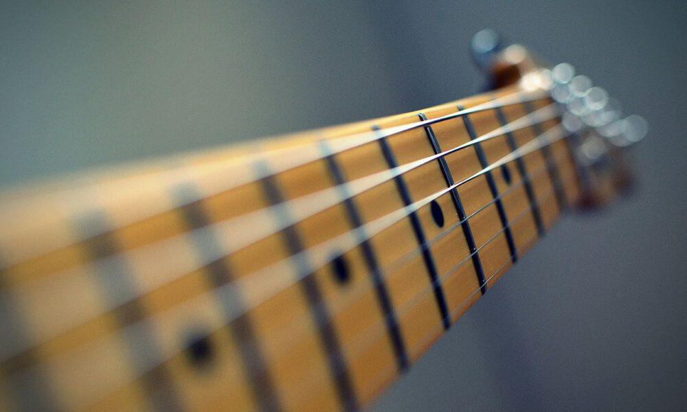 Hals Einer E-Gitarre