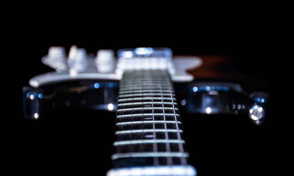 Hals Und Korpus Einer E-Gitarre