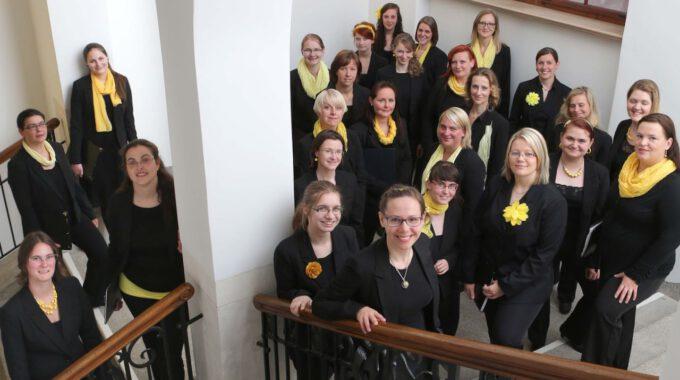Mitglieder Des Ensembles Im Neuen Rathaus Leipzig