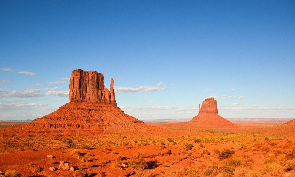 Felsformationen Am Colorado-Plateau