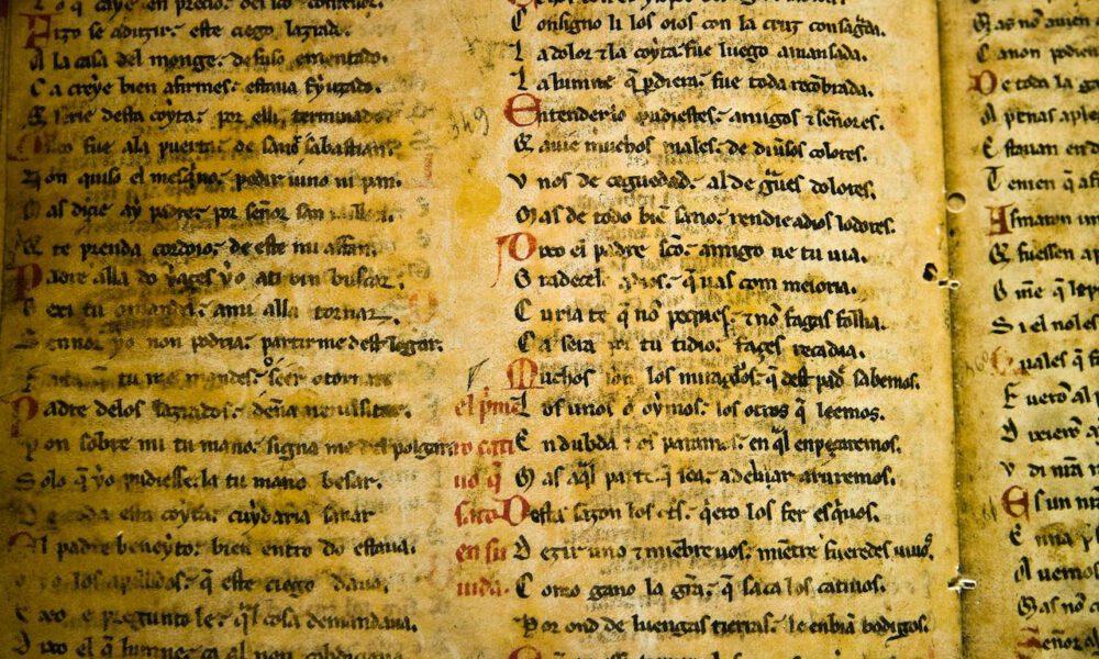 Mittelalterliche Handschrift