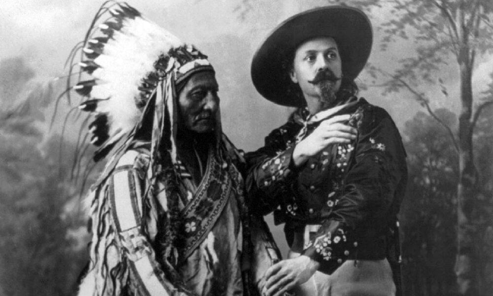 Historisches Foto Von Sitting Bull