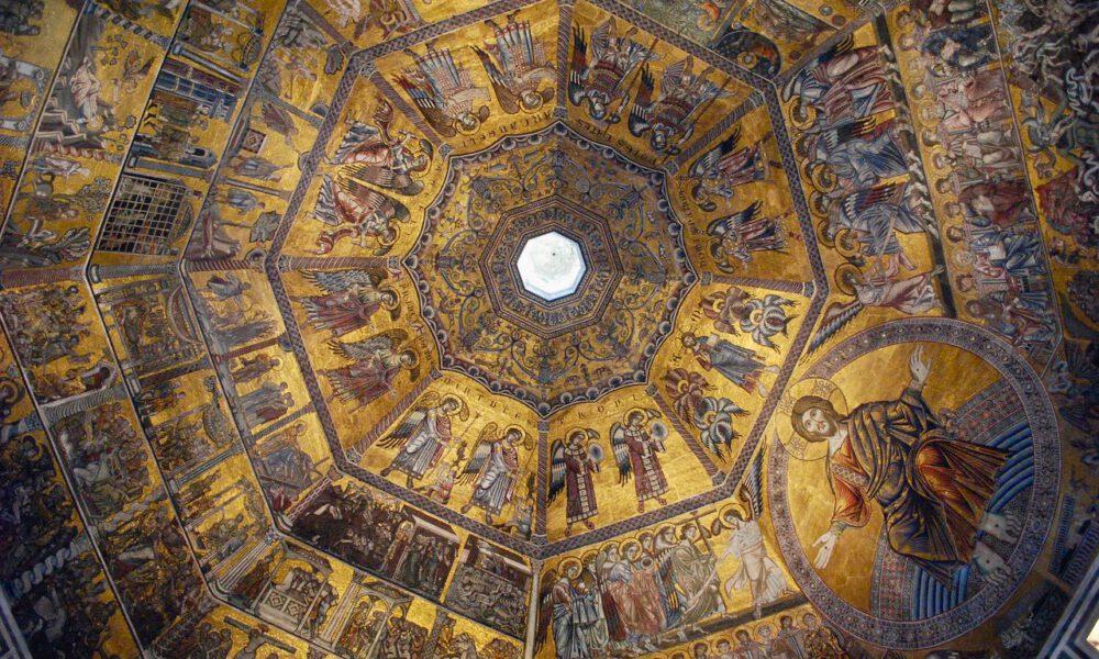 Innenansicht Der Kuppel Im Dom Zu Florenz