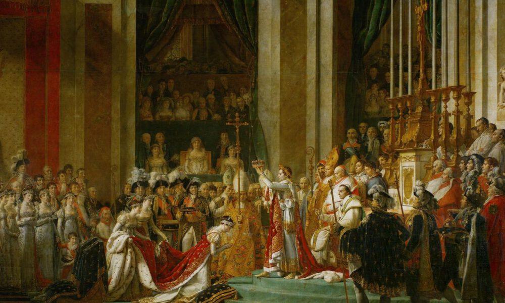 """Jacques-Louis Davids Gemälde """"Le Sacre De Napoléon"""""""