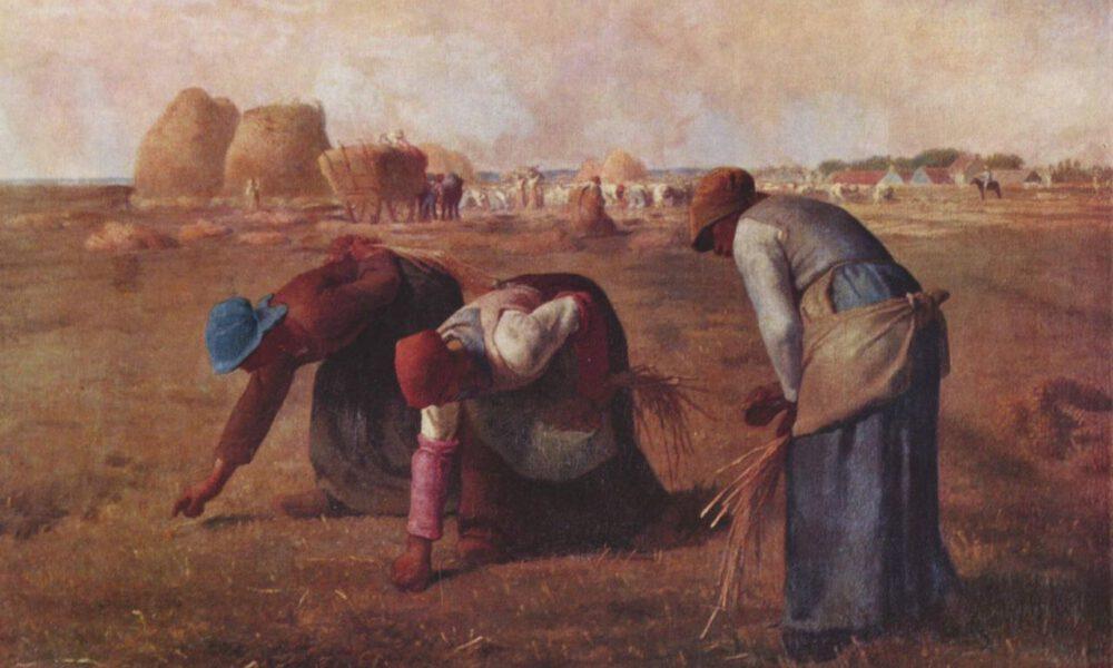 """Jean-François Millet: """"Die Ärenleserinnen"""""""