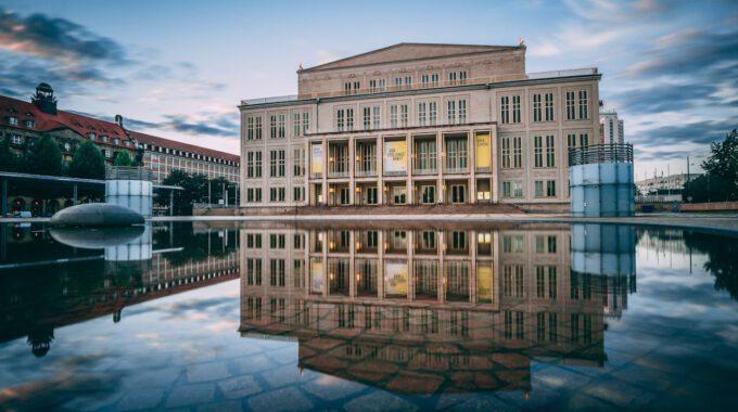Leipziger Opernhaus Am Augustusplatz