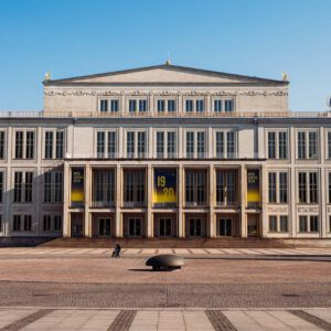 Leipziger Opernhaus Im Lockdown (April 2020)