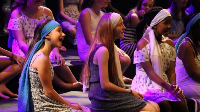Mitglieder Des Kanadischen Mädchenchores