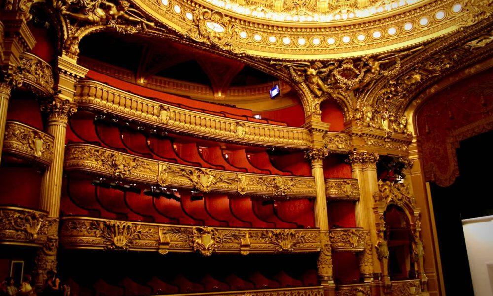 Opéra Garnier Paris: Zuschauerlogen