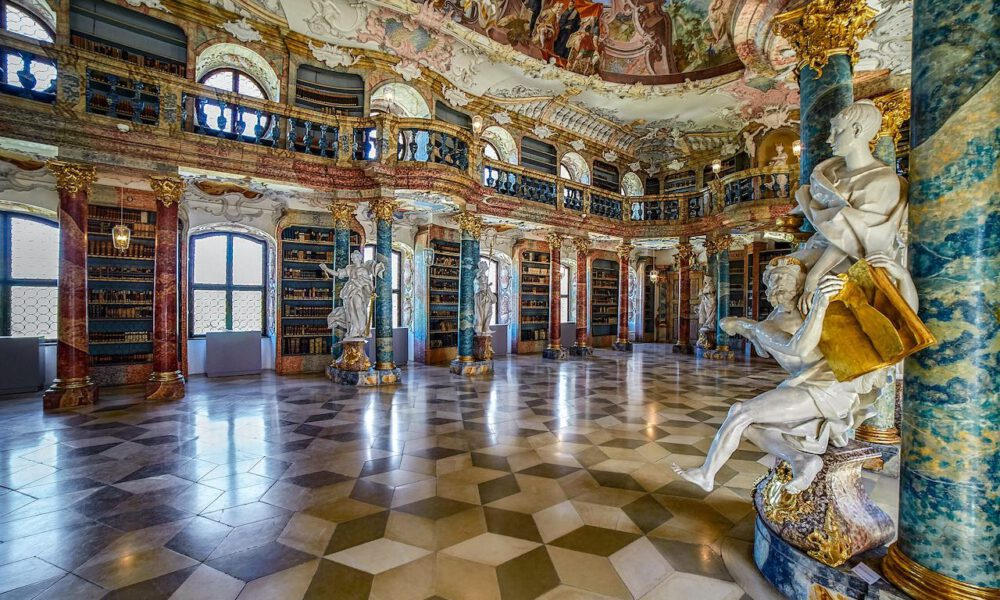 Rokokosaal Im Kloster Wiblingen