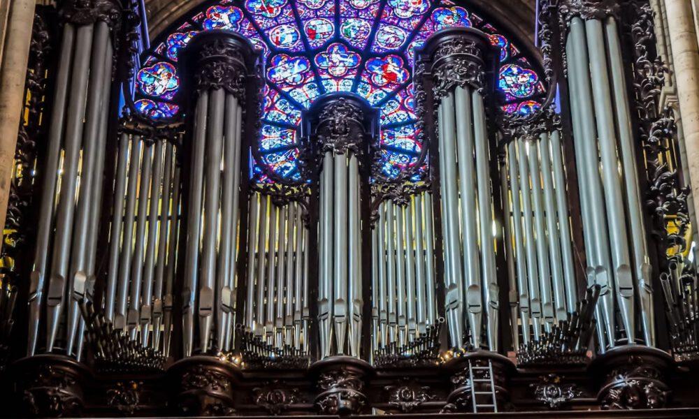 Romantische Hauptorgel Von Notre-Dame In Paris