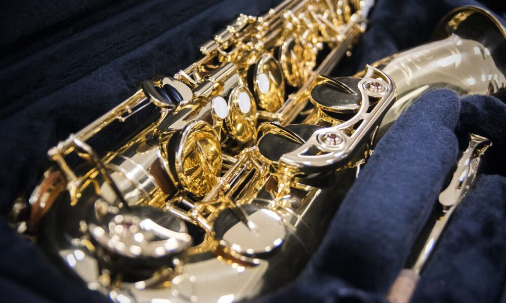 Detailaufnahme Eines Saxophons