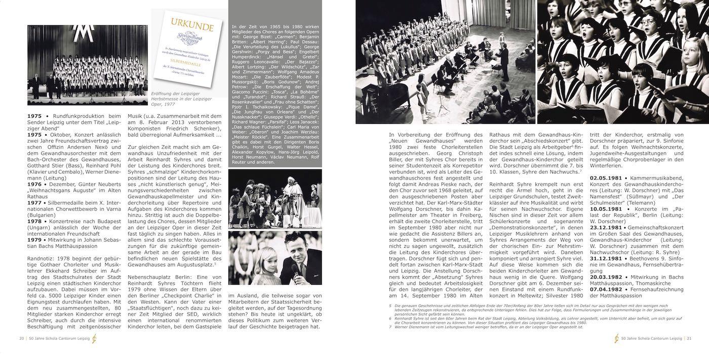 Ausschnitt Der Festschrift Von 2013