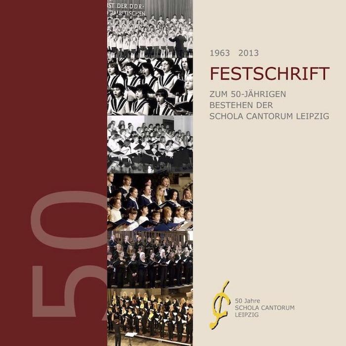 Titelseite Der Festschrift Von 2013