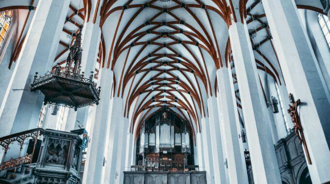 Thomaskirche Leipzig, Blick Zur Westempore