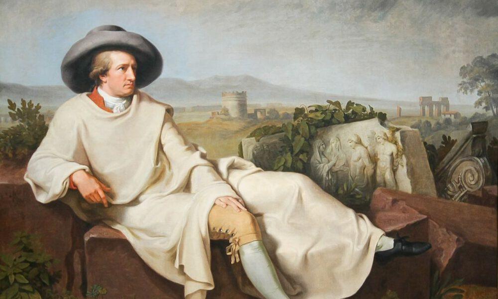 """Tischbeins Gemälde """"Goethe In Der Campagna"""""""
