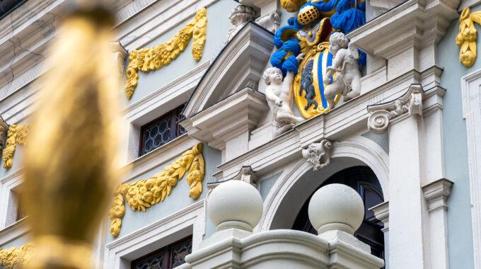 Alte Handelsbörse Wappen